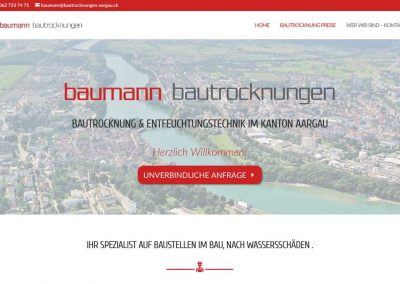 Baumann Bautrocknungen Aarau