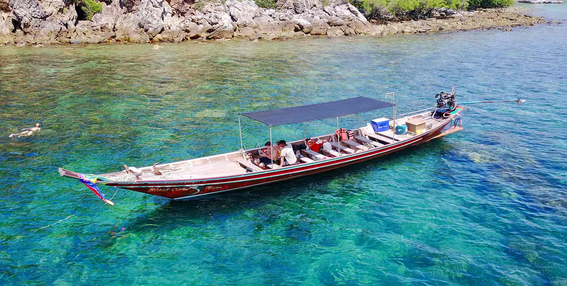 phangan boattrip blackcoral - Snorkel Daytrip