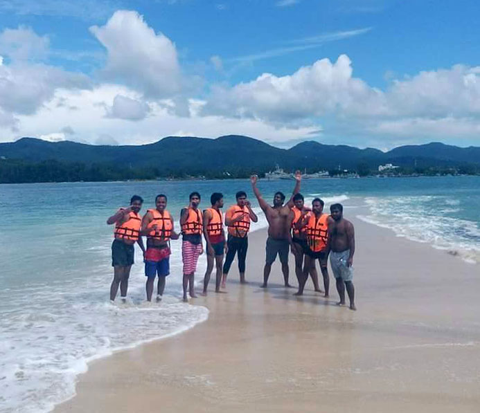 Snorkelling around ko phangan