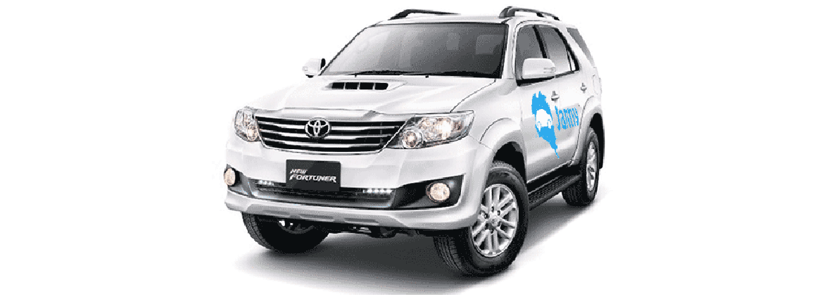Toyota Fortuner Car for rent koh phangan