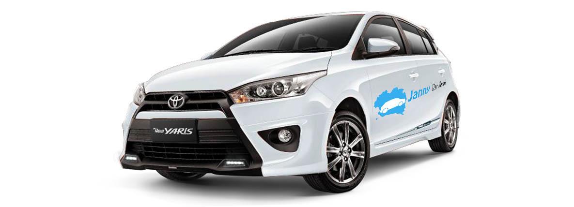 Toyota Yaris Car for rent koh phangan